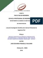 Linea de Investigacion Cientifica Ing. Civil_penadillo