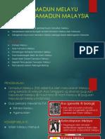 Bab 3 Tamadun Melayu Teras Tamadun Malaysia