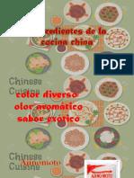 Ingredientes de La Cocina China