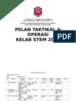 Pelan Taktikal Kelab Stem 2019