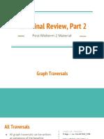 CSM Final Review Part 2 (11%2F2)
