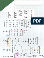 Algebra 41) Matriz Escalonada. Lunes 12 de Octubre de 2015