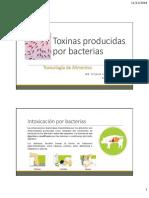 Toxinas Producidas Por Bacterias y Hongos_IIA Xitlalic Castillo