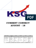 August 2018, Current Connect, KSG India