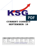 September 2018, Current Connect, KSG India