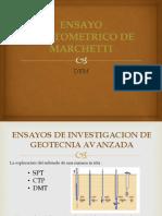 Ensayo Dilatometrico de Marchetti Dtm