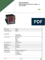 EasyLogic PM1000 Series_METSEDM6000
