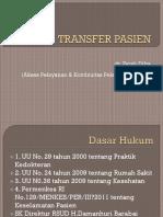 Transfer Pasien