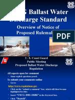 USCG-Ballast Water Standard