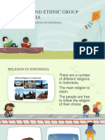 Religion and Ethnic Group in Indonesia