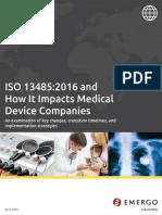 WW ISO13485 Impact Whitepaper