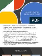 Pregled Hrvatske Dječje Književnosti - periodizacija