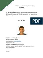 Ficha de Datos