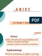 14.Unsrat --- Skabies - Pedikulosis - Cutaneus Larva Migrans Dr. Renate