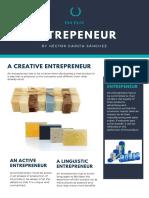 Entrepreneurial Skills Posters