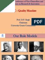 UGC Quality Mandate