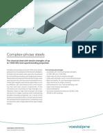 Voestalpine Datasheet Complexphase Steels en 20180711
