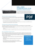 Poweredge r740 Spec Sheet