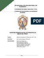 Especies Minerales de Las Principales Minas Del Peru.pdf