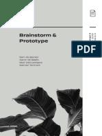 Brainstorm & Prototype