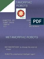 93233415 Metamorphic Robots