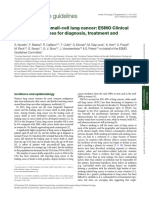 Cancerul Pulmonar Cu Celule Mici (SCLC) 2010
