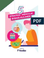 5 Strategi Memulai Bisnis Kuliner