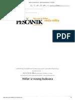 Hitler Iz Novog Bukvara - Ljubodrag Stojadinović - Peščanik
