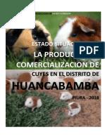 ESTADO SITUACIONAL DE LA PRODUCCION Y COMERCIALIZACION DE CUYES EN EL DISTRITO DE HUANCABAMBA