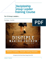 Discipleship Training Manual PDF Copy