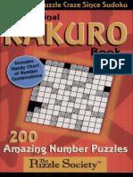 Libro de Kakuro