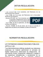 Presentación Relaciones Coordinación entre Administraciones Públicas en el ámbito patrimonial