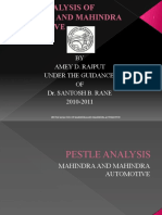 Pestle Analysis Of M&M Tractors