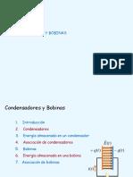 Presentacion Condensadores y Bobinas