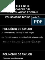 Cálculo Ii_aula 17