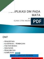 KOMPLIKASI DM PADA MATA.pptx
