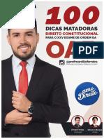 Ebook - 100 Dicas Matadoras Direito Constitucional.pdf