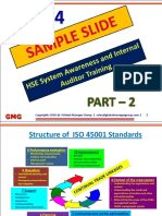 PPT Presentation for HSE Auditor Training