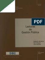 Lecturas de gestión pública - Brugue, Subirats.pdf
