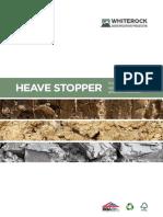 Whiterock Heave Stopper Email Brochure