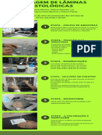 Montagem de Lâminas Histológicas + Portifólio Histologia