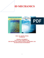 Fluid Mechanics d203 Reseni