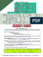 6809 Assembleur Et Périphériques v4.12 (Richard Sorek) (French)