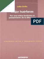 Lidia Cirillo - Mejor huerfanas.pdf