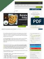 GIRIAS vol 7 Batata Fritas en Ingles UK USA