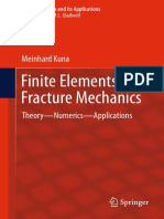Finite Elements in Fracture Mechanics Theory Numerics Applications