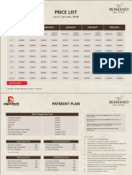 Romano Price List Current (1)