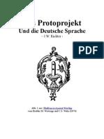 Das Protoprojekt und die Deutsche Sprache