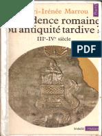 MARROU, Henri-Irénée. Décadence romaine ou Antiquité tardive.pdf