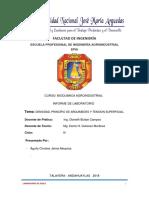 FACULTAD de INGENIERÍA Informe Solo de Jaime Mio